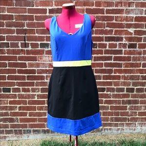 Cynthia Rowley colorblock dress